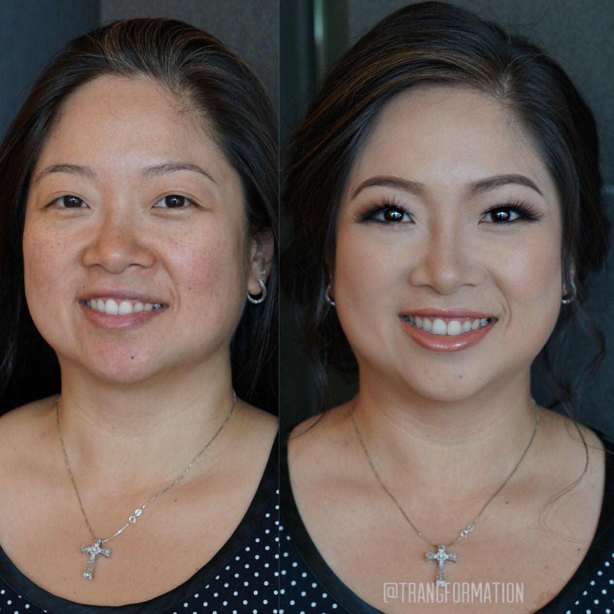 makeup, before and after, asian makeup, natural makeup | make up