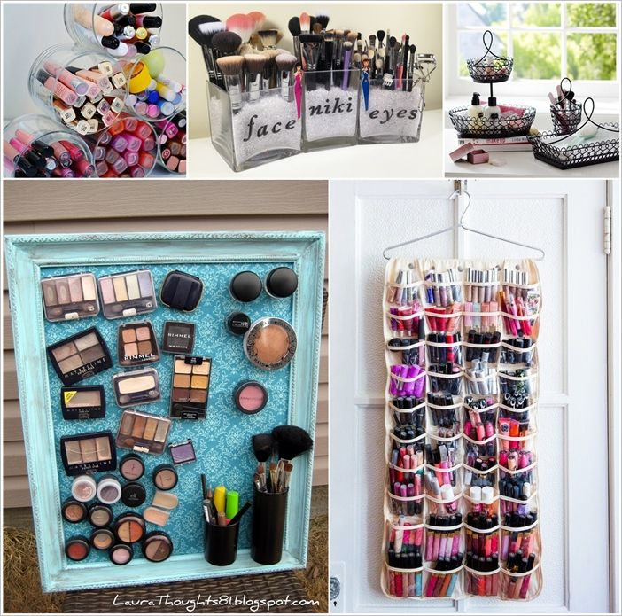 12 Cool Ideas to Store and Organize Your Makeup | Krása ...