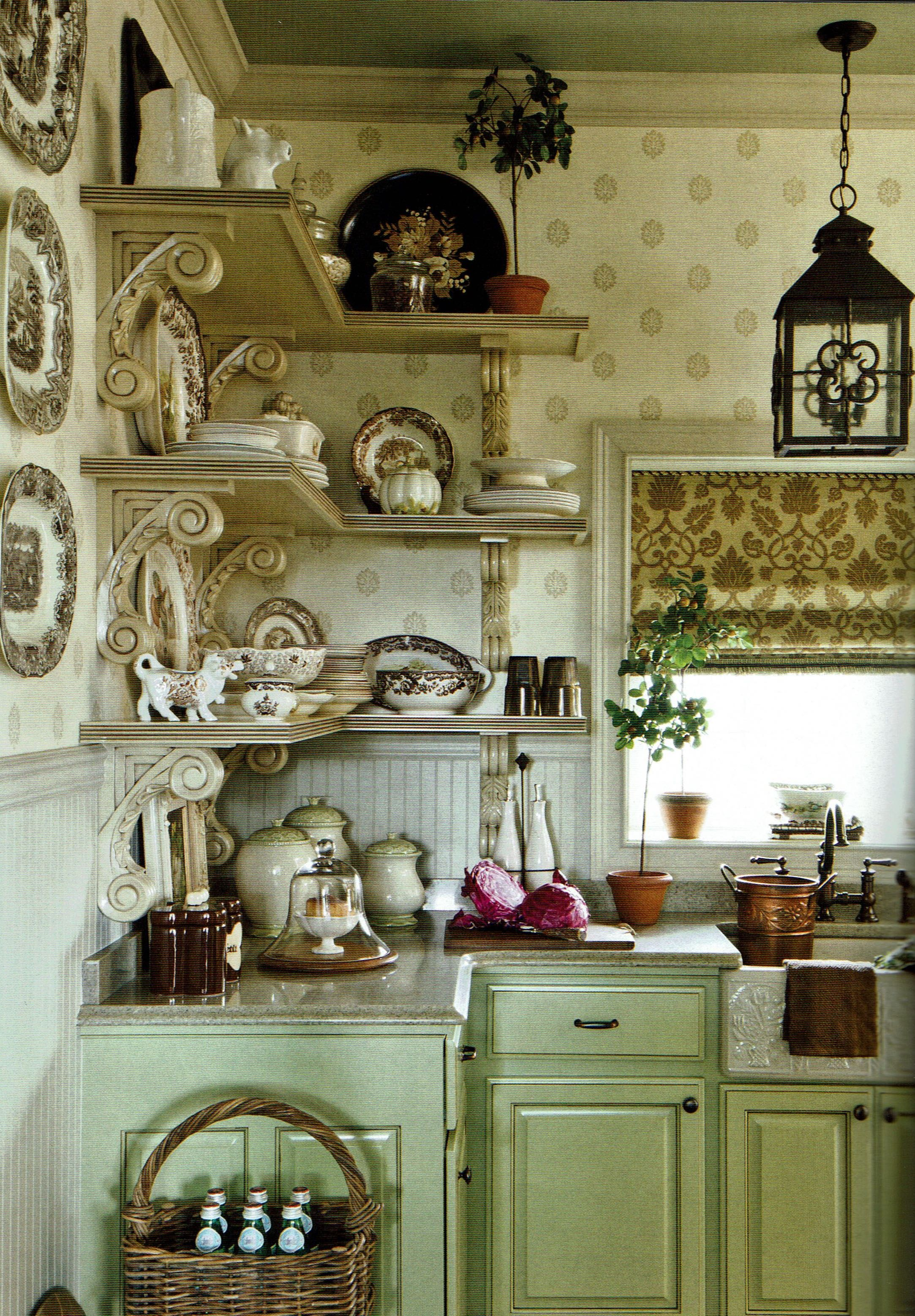 Best Charles Faudree Inspired French Country Kitchen Interior 400 x 300
