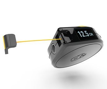 The Bagel Smart Tape Measure Actually Seems Pretty Nifty Cool Tools Tape Measure Digital Gadgets