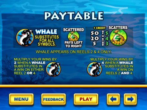 Whales Of Cash Pay Table Slot Online Online Poker Paid Leave