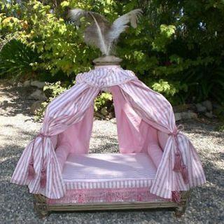 princess dog beds | Pink Canopy Bedding Princess Dog Bed Canopy Bed Girls Furniture Small & princess dog beds | Pink Canopy Bedding Princess Dog Bed Canopy ...