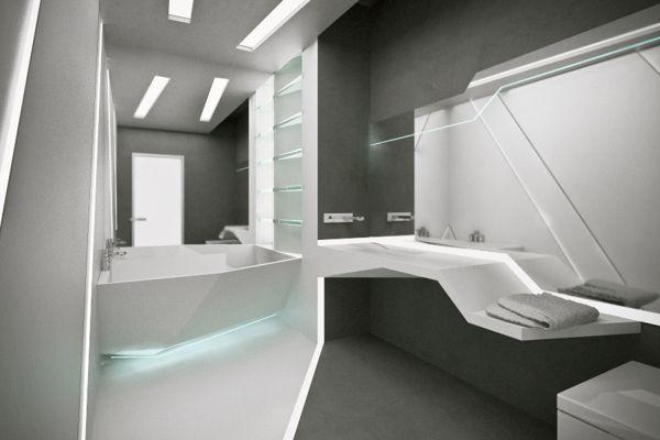 Futuristic Bathrooms Pleasing Futuristic Bathroomlukonina Liubov  For Future Home  Pinterest