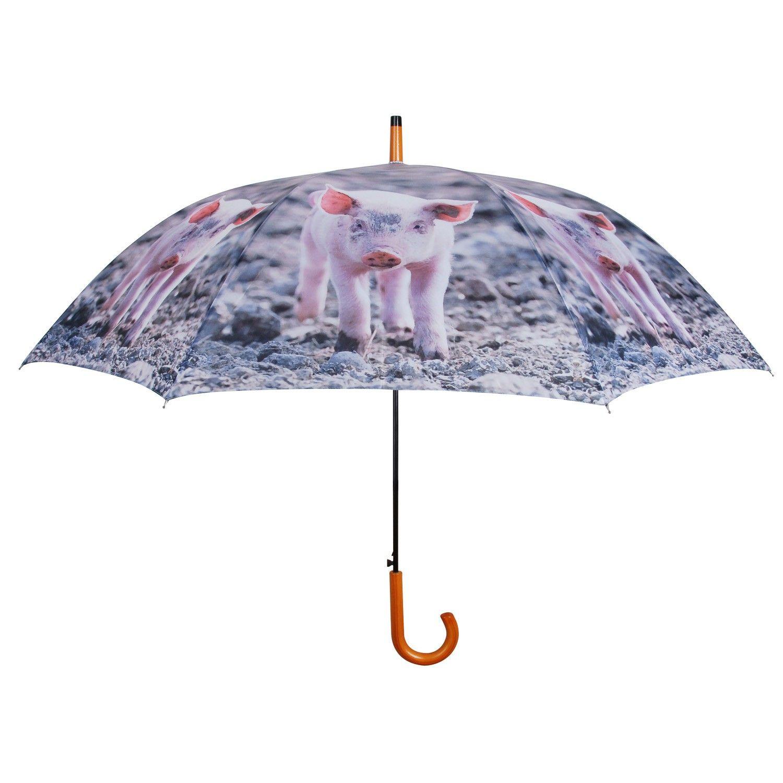 Fallen Fruits Umbrella Farm Animals - Pig | Brollied