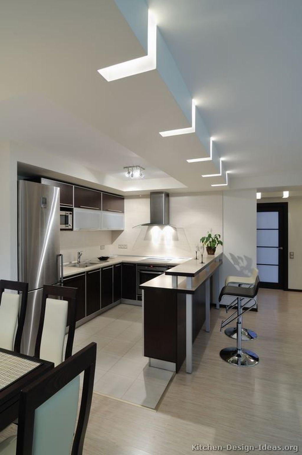 45 Awesome Modern Ceiling Ideas Minimalist Kitchen Design Best