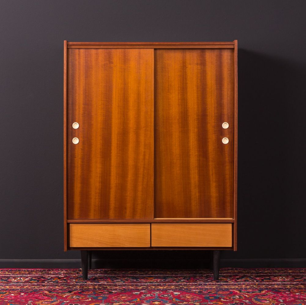 For Sale German Shoe Cabinet From The 1950s