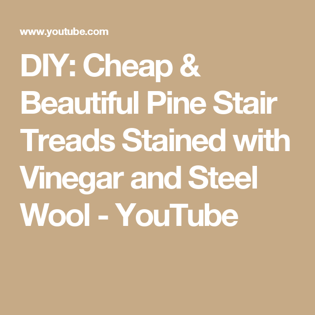 Best Diy Cheap Beautiful Pine Stair Treads Stained With 400 x 300