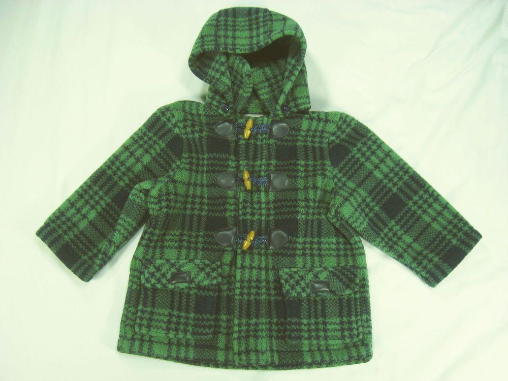 24 Months Coat Winter Girl Widgeon Green Plaid Removable Hood #Widgeon #Coat #Dressy