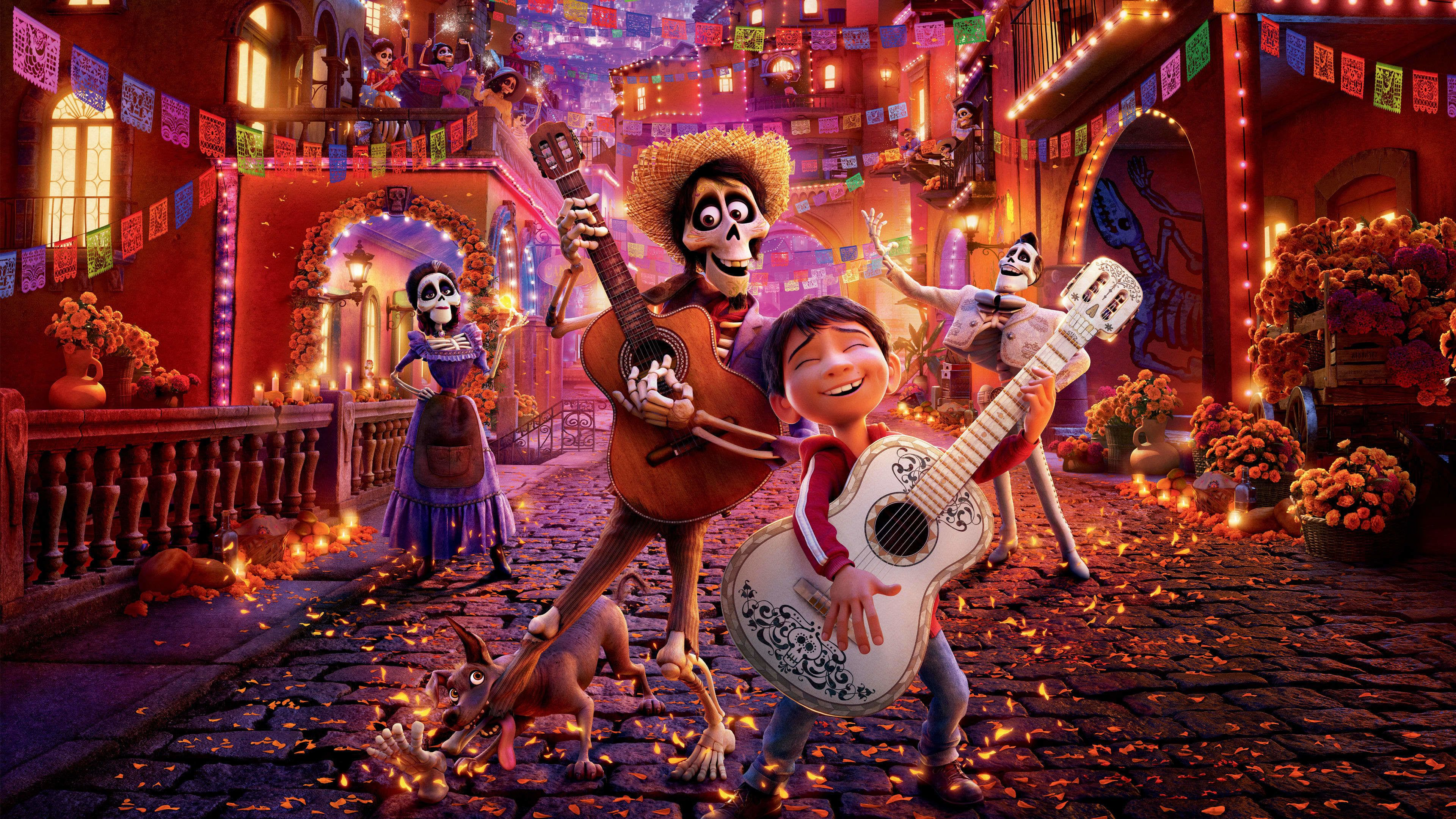 Coco 2017 Film Norsk Undertekst Pa Nettet Movie123til Tross For At Familien Gjennom Generasjoner Har Hatt Et Gammelt Forbud Mot Musikk D Musicista Cinema Film