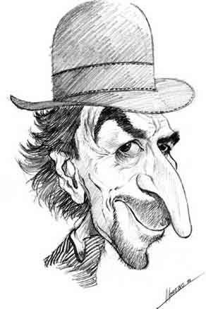 Caricatura De Sabina Caricaturas A Lapiz Caricaturas De Famosos Dibujos Geniales De Arte