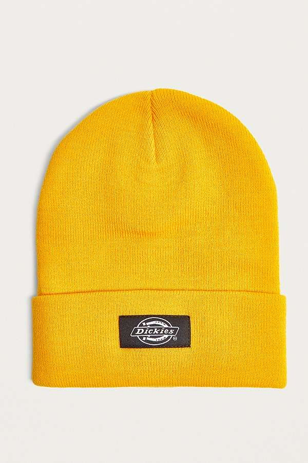 f021d2a6ef8 Slide View  1  Dickies Yonkers Yellow Beanie