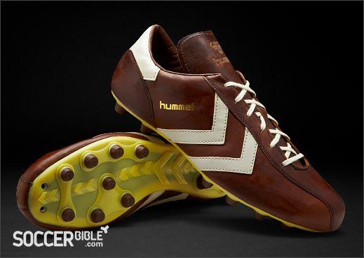 the latest 66447 c05d1 Hummel Roma Vintage Football Boots - Dark Cognac