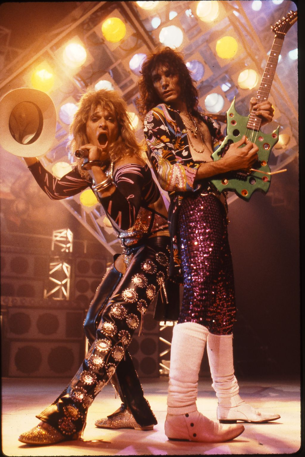 David Lee Roth And Steve Vai Photograph By Neil Zlozower Steve Vai David Lee Roth Glam Metal