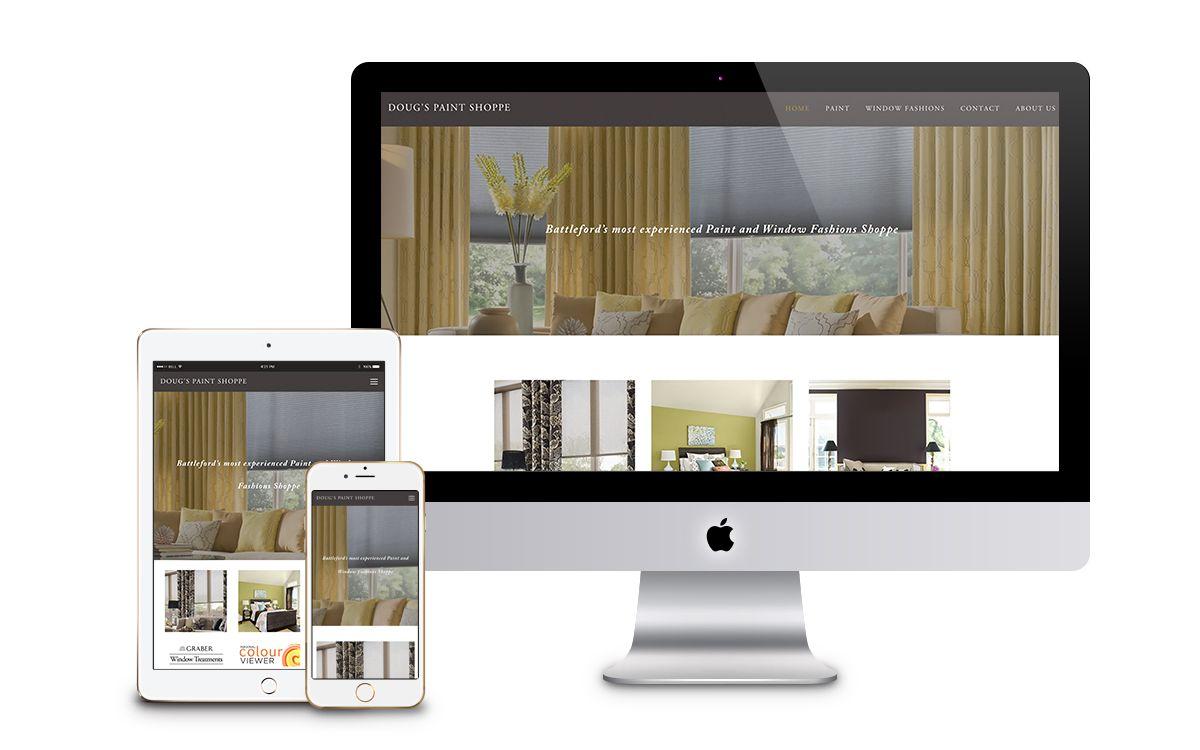 Doug's website design— Lindsay Toth