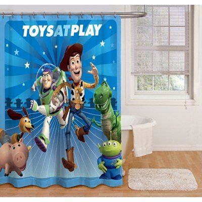 Toy Story Shower Curtain Toy Story Bedding Toy Story Bedroom