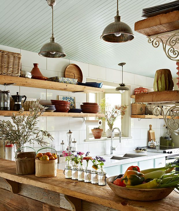 Open Shelving Unit Kitchen: 30 Kitchens That Dare To Bare All With Open Shelves