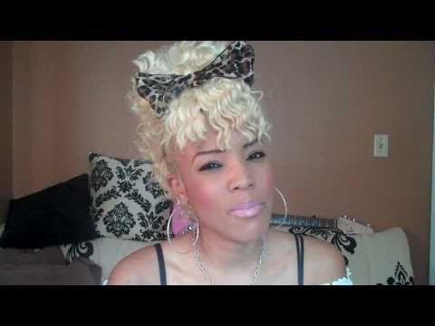 Exclusive How To Get Bleach Blonde Platinum Hair Like Courtni