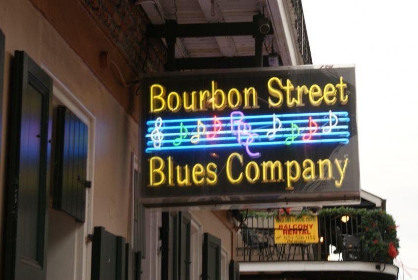 Bourbon Street Blues Company, New Orleans