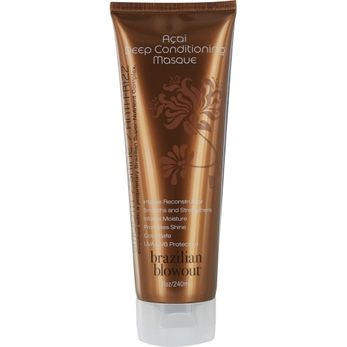 BRAZILIAN BLOWOUT by Brazilian Blowout ACAI ANTI-FRIZZ DEEP CONDITIONING MASQUE 8 OZ