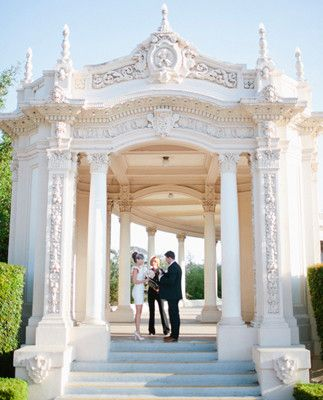 Wedding Elopment At The Organ Pavilion In Balboa Park San Go Ca I So Would Love To Do This With David Is 3 Years Too Soon Renew Our Vows