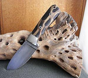 Sonoran Hunter knives with custom handle