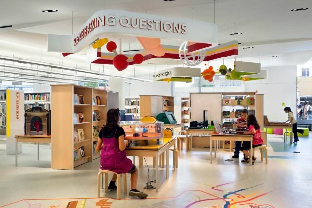 Library Interior Design Awards   Library Interior Design Awards | Project  Title: Queens Library |