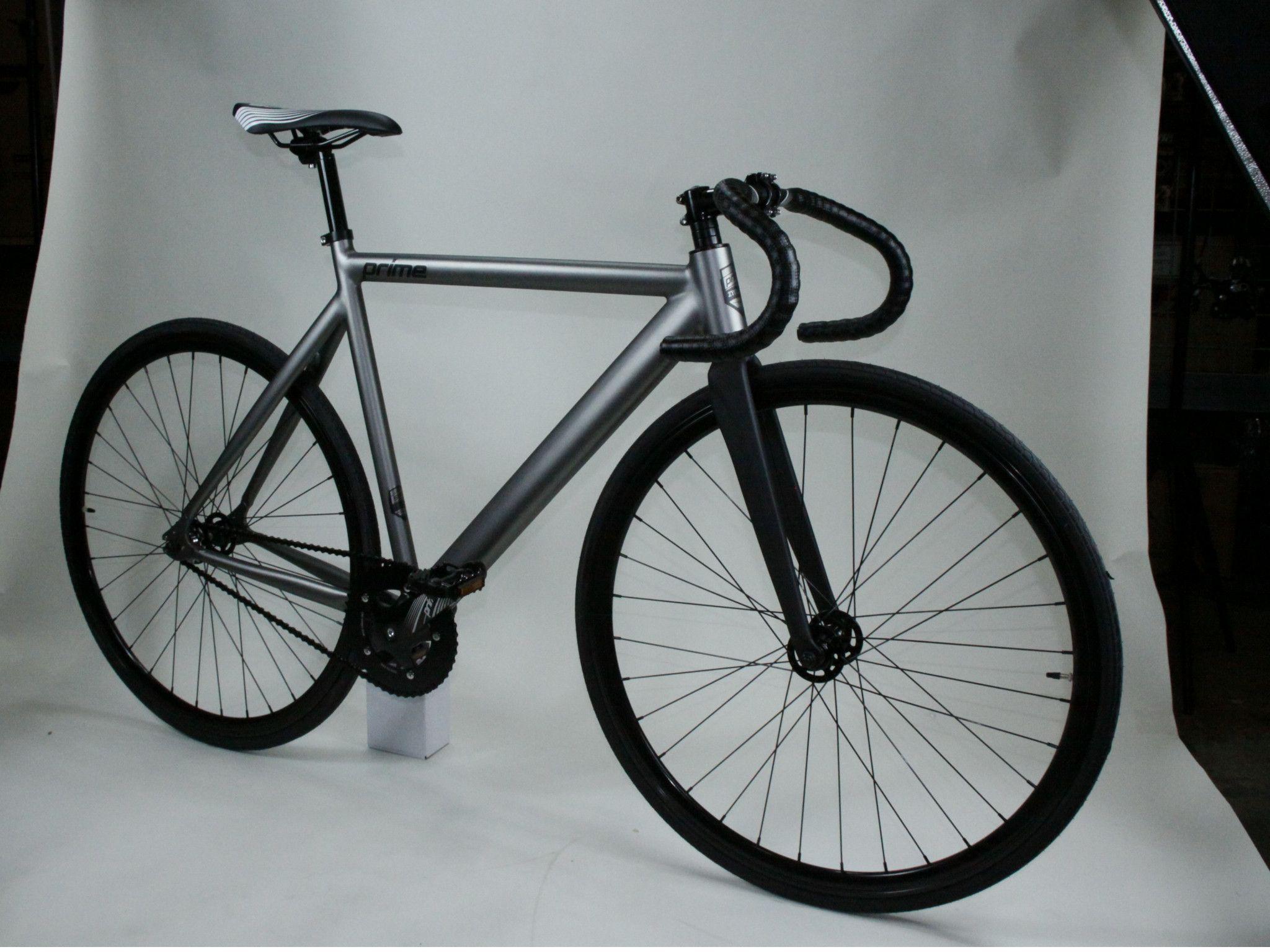 Zycle Fix Prime Alloy Fixed Gear(fixie) Bike (GunMetal