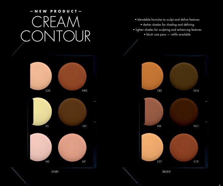 Coming in July! Cream Contour
