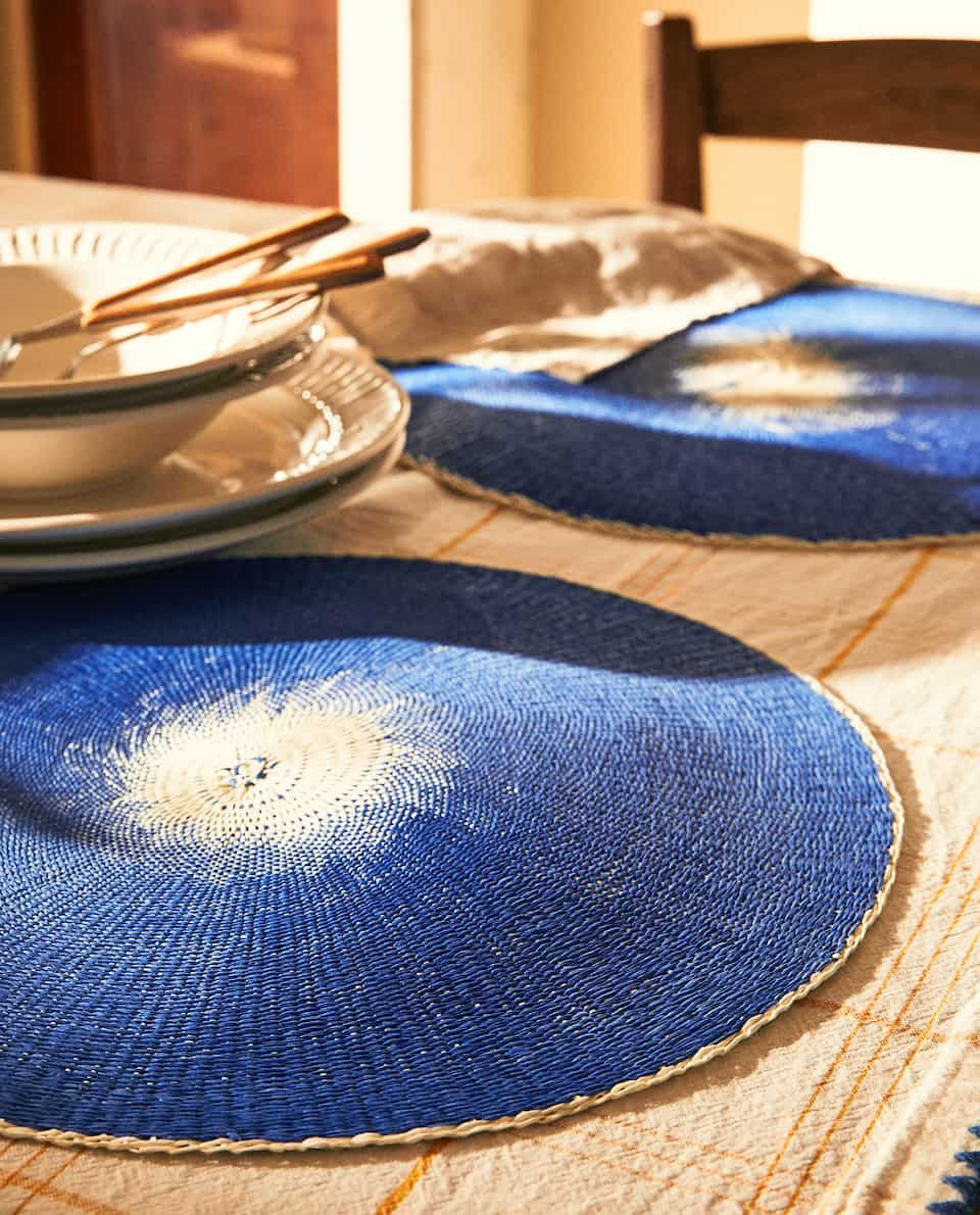 Image Of The Product Round Placemat Pack Of 2 Tischset