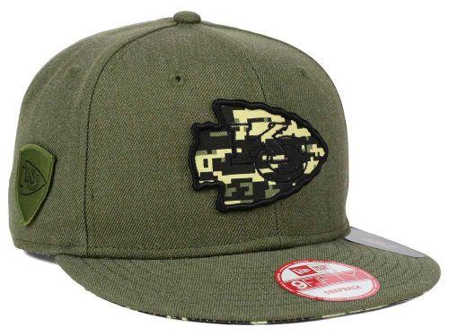 Kansas City Chiefs New Era NFL Camo 9FIFTY Snapback Cap Hats  dc714382c