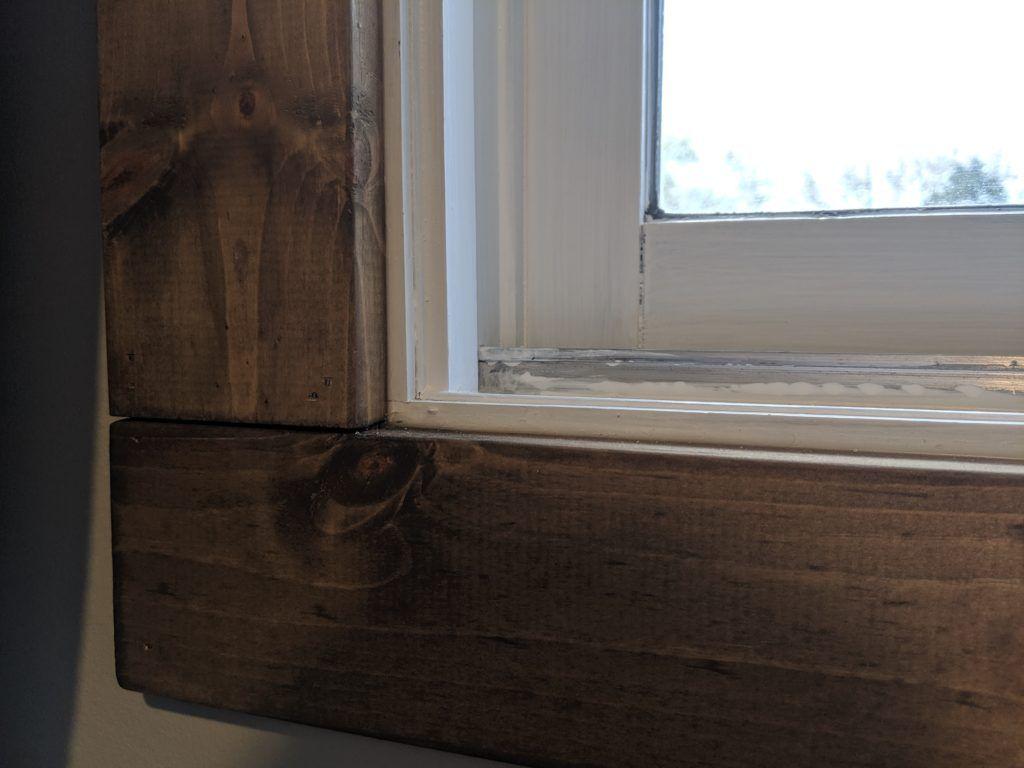 Easy diy farmhouse interior window trim in 2020