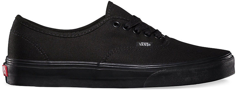 c514f7e575 Vans Authentic Shoes Low Top Women Size Sneakers Vn000Ee3Bka - Black Black