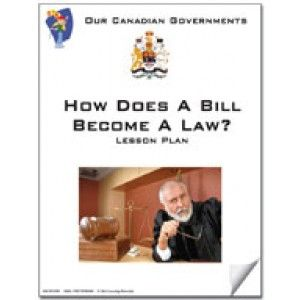 canadian government lessons how does a bill become a law ebook teacher ebooks teacher. Black Bedroom Furniture Sets. Home Design Ideas