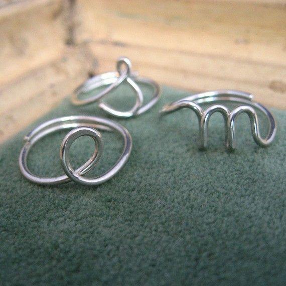 """""""m"""" ring"""