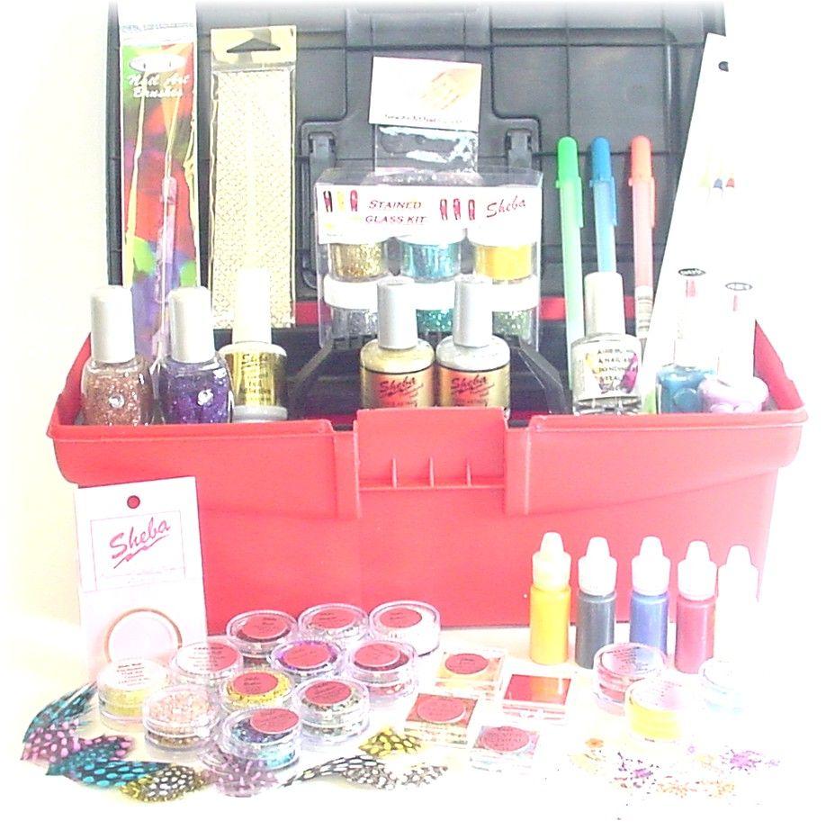Sheba Master Nail Art Kit 45