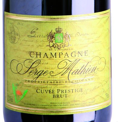 Recension av Serge Mathieu Cuvée Prestige i Decanter 2011 #champagne #winemarket #sergemathieu