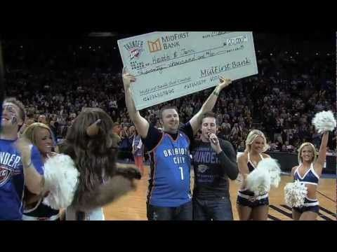 OKC Thunder fan swishes a 20k HALF-COURT SHOT! - http://weheartokcthunder.com/okc-thunder-videos/okc-thunder-fan-swishes-a-20k-half-court-shot