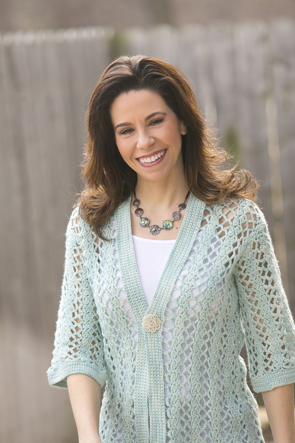 Mint Breeze Cardigan - Three-quarter length sleeves and clean, unfussy details make the cardigan versatile enough to wear over jeans and a camisole or over an elegant silk blouse. Get the subscription today!