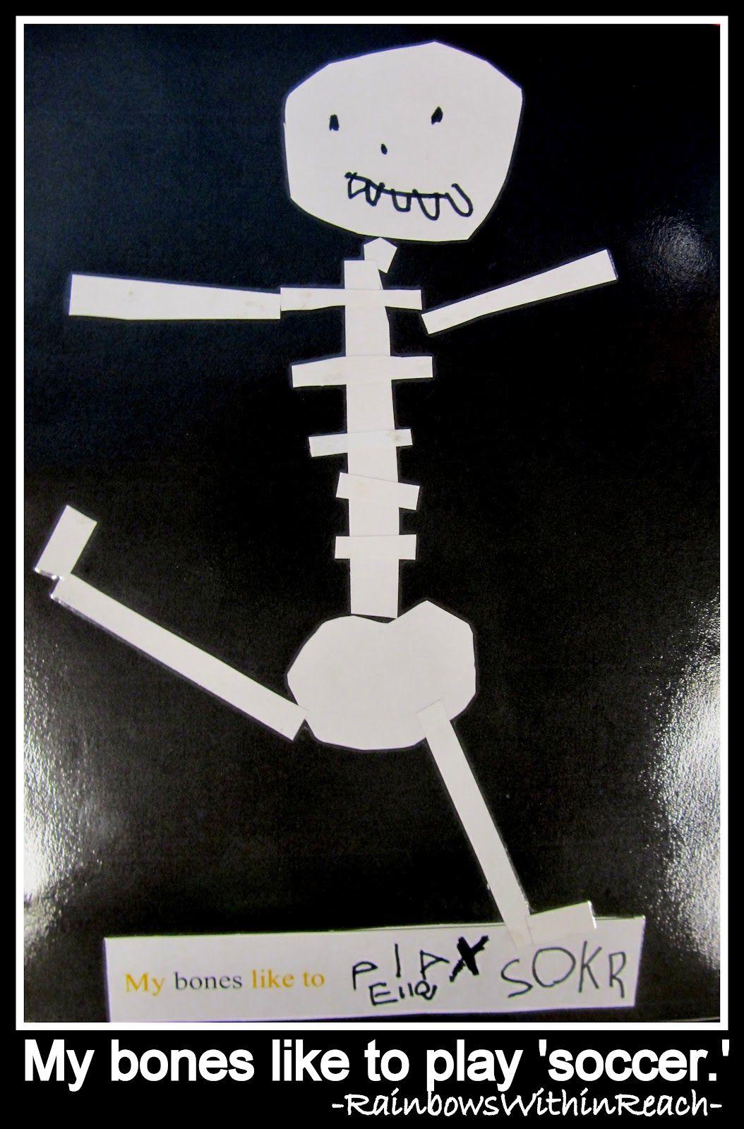 October Skeletons Kindergarten Thru Elementary