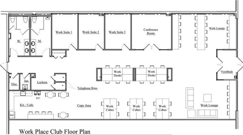 Awesome Co Working Spaces Floor Plan Design Ofliho Com Office Floor Plan Office Space Planning Coworking Space Design
