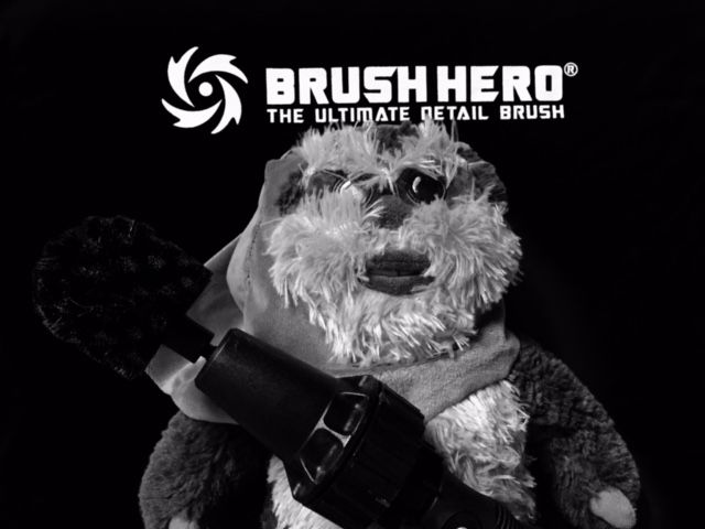 Happy Star Wars Day from Brush Hero! #Maythe4thBeWithYou brushhero.com Tough on Muck. Safe on Ewoks.