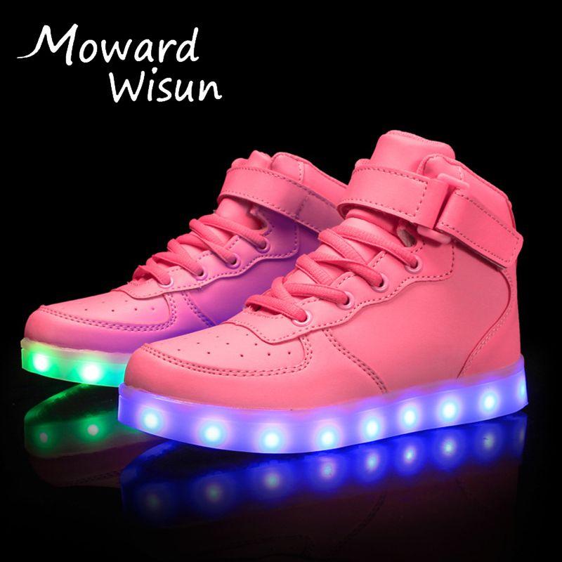 2017 neue Ankunft Mode Kinder LED Schuhe für Kinder Jungen