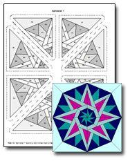 easy kaleidoscope designs google search tattoos pinterest tattoo
