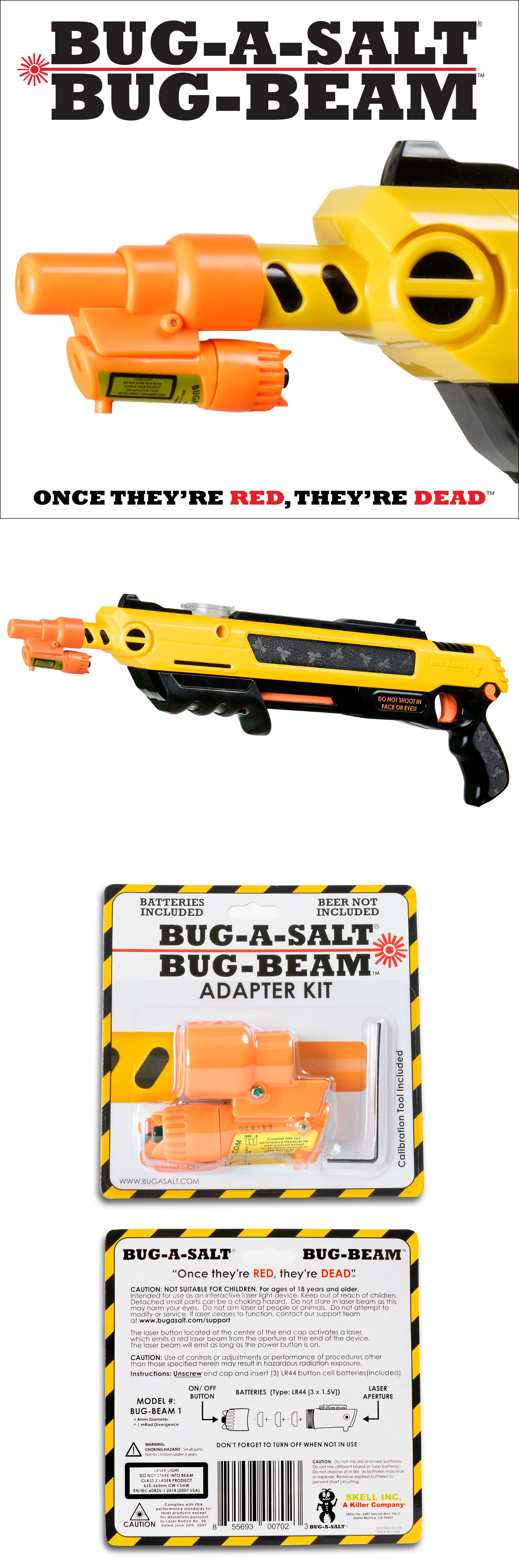 Details about Authentic BUGASALT BUGBEAM LASER ADAPTER