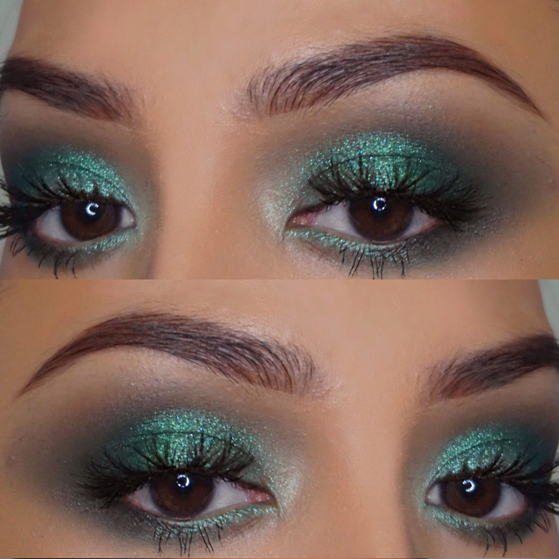 Melt smoke sessions palette Makeup for green eyes, Kiss