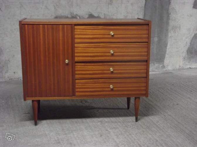 Commode vintage année 60/70 * Angers 80\u20ac meuble bas retro, en bon