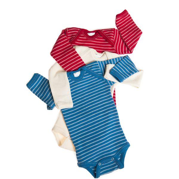 Hocosa Organic Merino Wool Snap Bottom Shirts For Baby Toddler