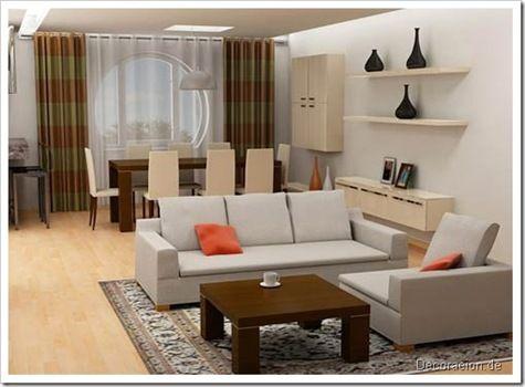 decoracion de salas de apartamentos