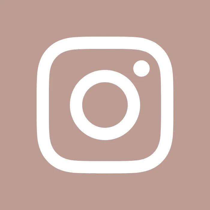 Brown template instagram Personal blog template instagram
