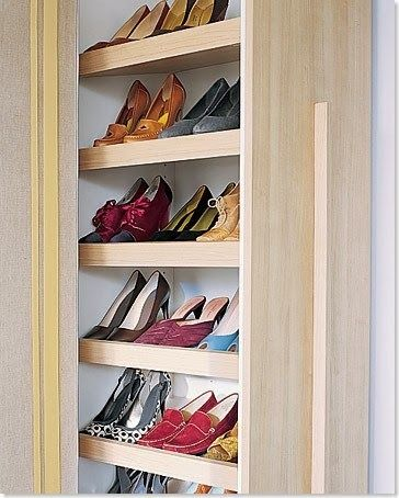 How To Build A Stylish Shoe Rack For Your Closet Diy Shoe Rack